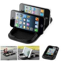 Wholesale Car Super Sticky Pad Anti Slip Mat for Phone Mp3 Mp4 Black Accessories