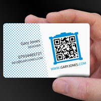 Wholesale min qty Double faced business card PVC gift card