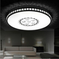 Wholesale Ultra thin Surface mounted modern round led ceiling light for living room kids bedroom kitchen home decoration lamp fixtures