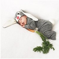 baby pants with footies - NEW Baby Jumpsuits Rompers Footies Pants Kids Cartoon Bunny Cotton Set With Rabbit Ears Hat Cap Newborn Boys Girls Toddler Leggings Trousers