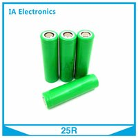 Wholesale 25R Rechargeable mah Lithium Battery For Electronic Cigarette Box Mods