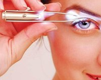 Wholesale Make Up Led Light Eyelash Eyebrow Hair Removal r Multi functional portable drawing eyebrow tools HY898