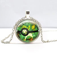 Wholesale Explosion models diversify animated image top games series pendant fashion time gemstone necklace Retro accessories on the wholesal