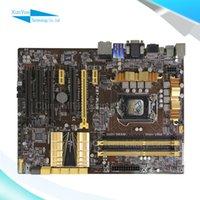 Wholesale For Asus Z87 PLUS Original Used Desktop Motherboard For Intel Z87 Socket LGA DDR3 SATA3 USB3 On Sale