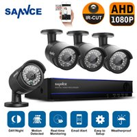 Wholesale SANNCE CH MP P DVR HDMI x Outdoor CCTV Home Video Security Camera System