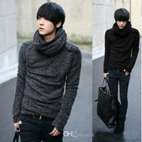 Wholesale Brand New Korean High quality sweater men turtleneck sweater pullover