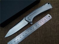 Wholesale Zero Tolerance ZT Outdoor folding knife D2 blade EDC ball bearing pocket flipper camping knife high quality