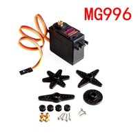 Wholesale RC Accessories New Metal MG996R Torque Digita RC Gear Servo for truck Boat Racing Car Helicopter and Airplane
