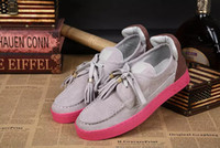 Cheap Hot Sale New Brand Fashion Style Nubuck Leather Shoes Men Casual Shoes high quality Top Luxury Brand Designer Flats Men Shoes