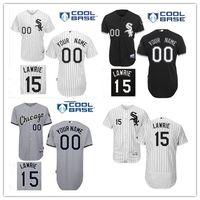 baseball brett - Brett Lawrie Jersey Chicago White Sox Baseball Jerseys COOL BASE Black Gray White Brett Lawrie Jersey Flexbase Collection Stitched