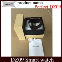 apples writing - Smart watch DZ09 Bluetooth Sports Smartwatch SIM Card Mini Phone Call Write Watches For Apple Samsung IOS Android Cell phone vs GT08 U8