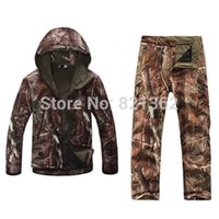 Wholesale Outdoor Realtree Camouflage Hunting Clothes Breathable Hiking Realtree Camo Clothing Waterproof Hunting Suits