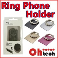 Wholesale Finger Grip Phone Stand Ring Holder Degree Ring Holder Hook Car Mount for Iphone s Galaxy S7 Edge and Tablets iPhone Stand Ring Holder