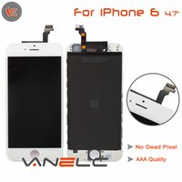 Wholesale Apple IPhone S original Grade A LCD Assembly Touch Screen Digitizer without Home button DHL