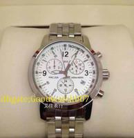 Wholesale Luxury Mens Auto Date white Dial T Sport Chronograph Watch men watches Quartz Dive Wristwatch