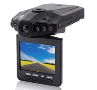 Wholesale Car DVR camera recorder H98 IR LED mount and degree view angle degree screen rotated Drop Shipping H198