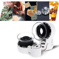 antique lens - Magnifying glass lens loupe magnifier for Jewelry Antiques lupas para joyeros helping hand lupas de aumento lente ingrandimento E1310