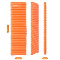 air inflated tents - Naturehike Outdoor Camping Tent Air Mat Mattress Ultralight Manual Inflatable Hand Press Inflating Dampproof Sleeping Pad
