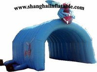 best tent fabric - best quality oxford fabric or PVC tarpaulin large inflatable tent camping tent for sale