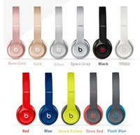 Wholesale Used Refurbished beats Solo2 Bluetooth Headphone Active Collection HD Stereo Wireless Mobile Cellphone Solo Earphone Headset
