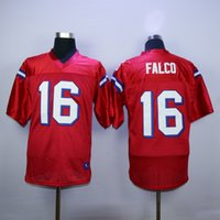 Wholesale Shane Falco The Replacements Movie Football Jerseys Mens Stitched and Embroidery High Quality Color Red Size M XL Jerseys