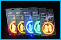 Wholesale 3rd LED Flashing shoe laces Fiber Optic Shoelace Luminous Shoe Laces Light Up Shoes lace pairs
