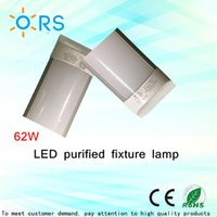 Wholesale led tube lights m purified ceiling lamp light fixture w White luxury gold color LED batten ceiling light fixture