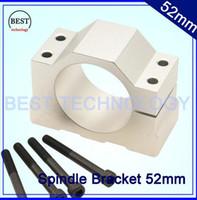 aluminium bending machine - Aluminium spindle Clamping bracket cnc machine tool spindle Diameter mm cnc spindle motor spindle mount bracket clamp