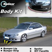 Wholesale Bumper Lip Lips Front Skirt Deflector Spoiler For Car Tuning The Stig Recommend Body Kit Strip For Cadillac Catera