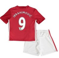 Wholesale KIDS kit Home Away shirts Free customized name and number KIDS shirts Top Thai quality