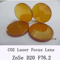 Wholesale CO2 Laser lens Diameter mm ZnSe Focus Lens for CO2 Laser mm focal length