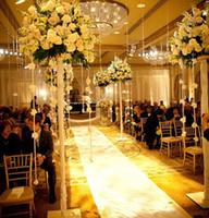 al por mayor soportes para macetas-Mental stand only) pisos del hotel interior decorativo astilla alto vaso mental soporte flores pote para decoraciones
