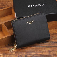 Wholesale high quality fashion women and men purse wallet mix leather designer creativity card holders wallets for women and men wallet
