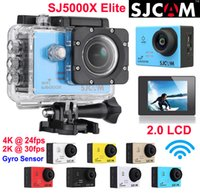 action sensor - Original SJCAM SJ5000X Elite K fps K fps Gyro sensor Sports Camera WiFi Waterproof Action Camera Diving m HD DV LCD NTK96660