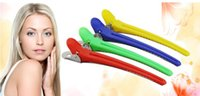 Wholesale drop shipping cm mix color Hair Products Hair Accessories Tools Hair Pins Duckbill clip One word shape clip Positioning clip