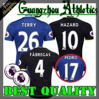 Wholesale 2016 Chelsea Home jersey FABREGAS OSCAR HAZARD MIAZGA WILLIAN TERRY DIEGO COSTA jersey