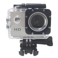 Wholesale Mini DV Action Camera A7 SJ4000 HD P Sport Camera in LCD Degree Wide Angle Lens M Waterproof Mini Camcorders US STOCK D2369
