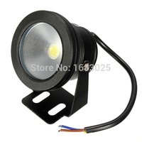 Wholesale 10W Underwater LED Flood Wash Light Outdoor Waterproof IP68 Aquarium Swimming Pool Fountain Spotlight Lamp White Warm White V