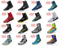 basketball trainers - 2016 KOBE IX ELITE Men s Christmas High Top Weaving Basketball Shoes Trainers Perspective KB Sneakers Shoes size US
