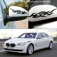 Wholesale 1 piece Car styling Flame sticker Car covers accessories Motorcycle Reflective stickers on cars For ford Baby on board cm