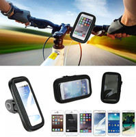 bar mount for iphone - Waterproof Bicycle Phone Case for Iphone s Sports Bike Handle Bar Mount Holder For Iphone s plus samsung S5 S6 S6 edge S7 S7 edge