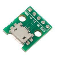b ics - MICRO USB to DIP Adapter pin Female Connector B Type PCB Converter