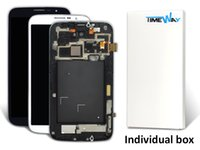 Cheap Free DHL Shipping For Samsung Galaxy Mega 6.3 i9200 i9205 i527 LCD Display Touch Screen Digitizer with Frame Assembly Replacement