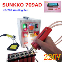 Wholesale A Updated KW AD high power Battery digital display mobile soldering Spot Welder with Welding pen HB B V
