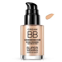 Wholesale 2016 Womens Shake Powder Cream Long Lasting Moisturizing Foundation Concealer Nude BB Cream Face Makeup Concealer Whitening Natural Brighte