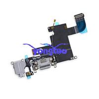 apple replace headphones - For iPhone6 Plus Dock Connector USB Charging Port Repair plus Headphone Jack Tail Plug Flex Cable Replace