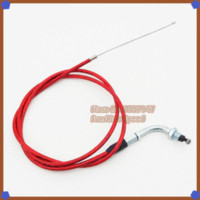 bicycle throttle - Red quot mm Gas Throttle Cable For cc cc cc cc Motorized Bicycle Push Bike Motor Moped Motorcycle