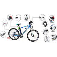 Wholesale 12 Parts DIY Your Electric Bicycle Electric Bike Conversion Kit Electric Bicycle Kit CK BT02