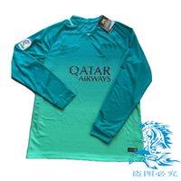 barcelona long sleeve - Barcelona soccer SHIRT euro SEASON BEST QUALITY BARCELONA Long sleeves SOCCER jerseys SUAREZ MESSI rd Long sleeves SHIRT