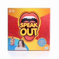 activity game for kids - Speak Out Game Newest Best Selling card Games KTV Party Game for christmas gift Activity Amusement Toys
